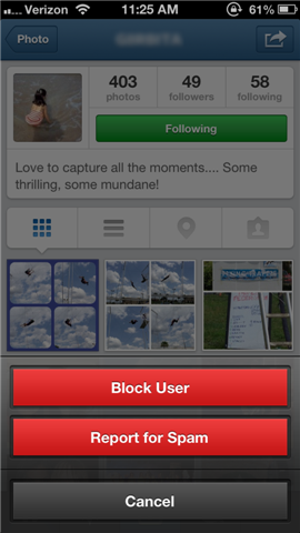 How to report cyberbullying on instagram