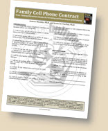 Cell Phone Use Contract