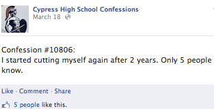 cypress confession 3
