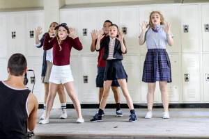 cyber bullying project students dance and poetry