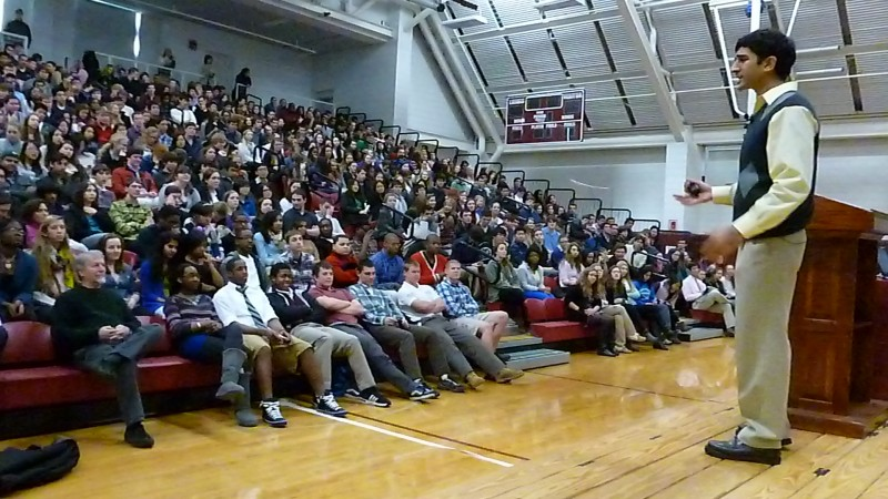 Speaking to Teens at Parochial Schools about Bullying