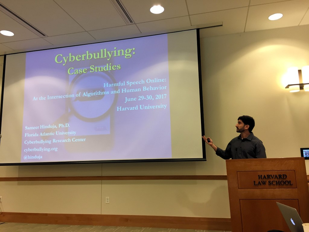 machine learning cyberbullying