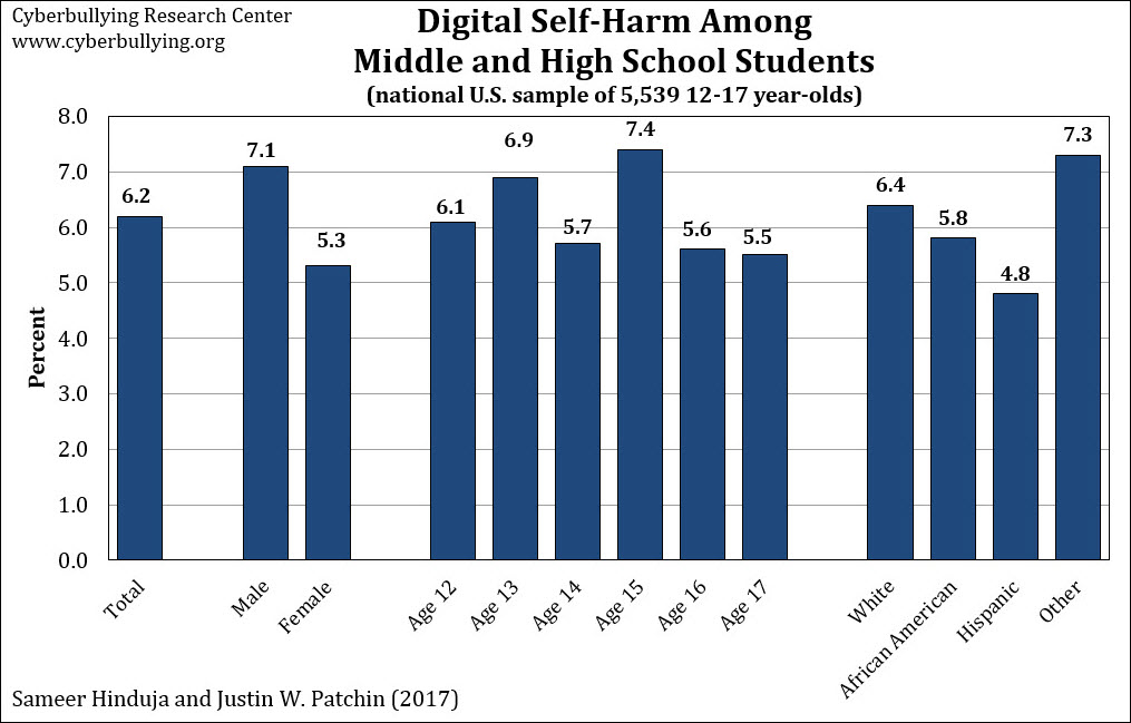 Digital self-harm