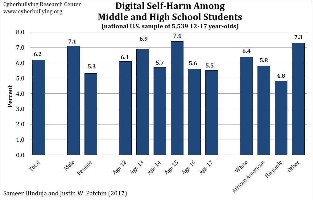 Digital self-harm