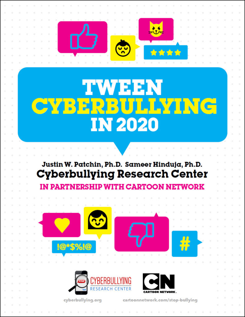 Tween Cyberbullying - 2020